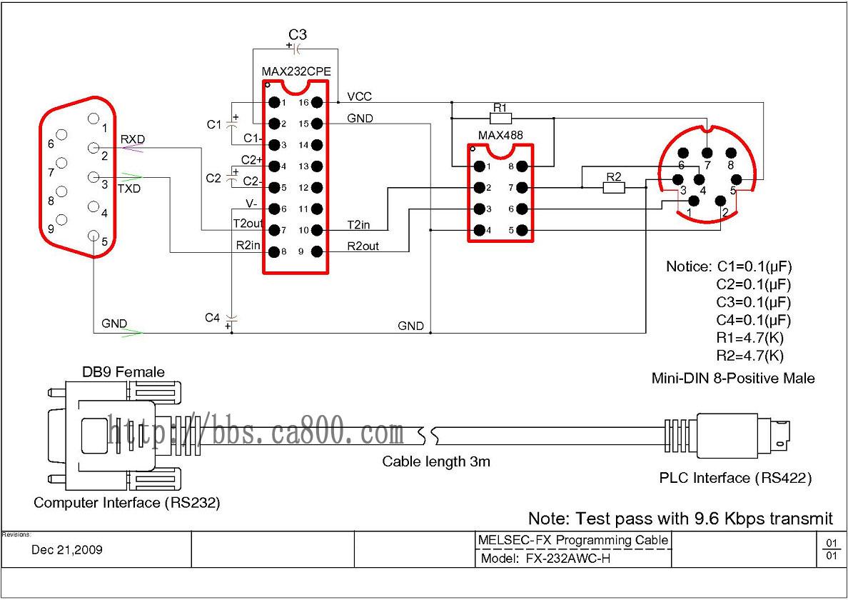 三菱plc编程电缆(测试通过)-中国自动化网论坛