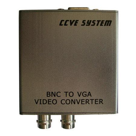 bnc转vga监控转换器