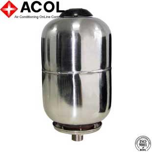 罐内部隔膜结构保证了水不与罐壁