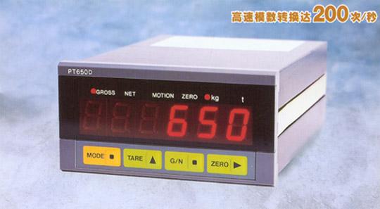 志美 CHIMEI PT650D称重控制 显示仪表