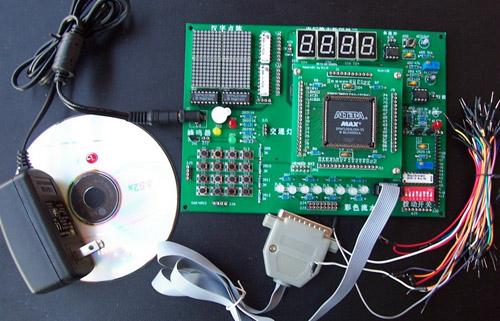 按键矩阵电路板背面焊接