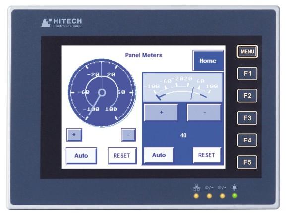 上海瑞治机电有限公司供应HITECH 海泰克 5.7寸 PWS6600S S 触摸屏 人机界面 总代理