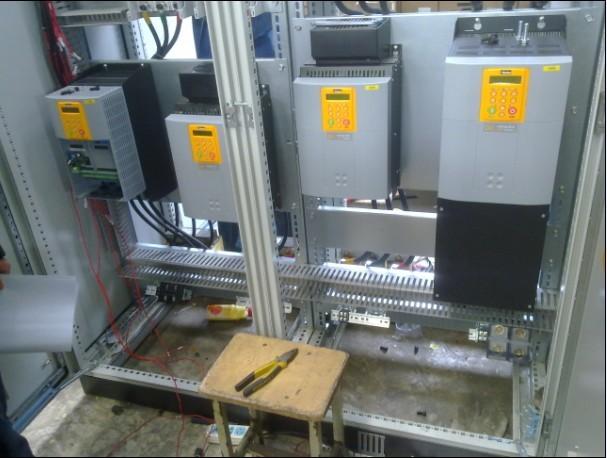 西门子6ra70系列直流调速器为本体设计制作的大功率